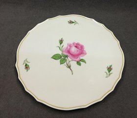 meissen-grosse-platte-rote-rose-1-wahl-d-31-8-cm