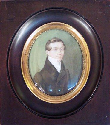 miniatur-portrait-gouache-auf-bein