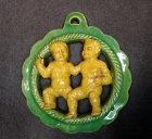kurt-feuerriegel-frohburg-keramikplakette-sternzeichen-zwillinge
