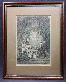 koenig-johann-von-sachsen-im-kreise-seiner-familie-holzstich-um-1870
